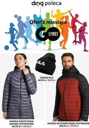 Gazetka promocyjna GO Sport - Jesienno-zimowo i sportowo w GO Sport