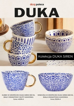 Gazetka promocyjna DUKA - Kolekcja DUKA SIREN