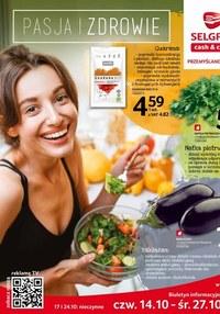 Gazetka promocyjna Selgros Cash&Carry - Zdrowie i pasja w Selgros Cash&Carry