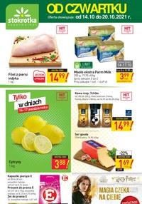 Gazetka promocyjna Stokrotka Supermarket - Magia trwa w Stokrotce Supermarket - ważna do 20-10-2021