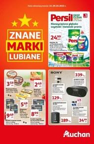 Znane marki w Auchan!