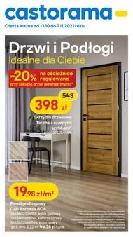 Drzwi  i podłogi w Castoramie