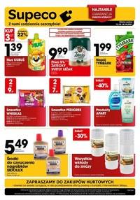 Gazetka promocyjna Supeco - Oszczędne zakupy w Supeco