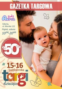 Gazetka promocyjna Akpol Baby - Targi dziecięce w Gdyni - Akpol Baby  - ważna do 16-10-2021