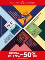 Druga książka o połowę taniej w Księgarnie Świat Książki