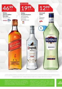 Gazetka promocyjna Stokrotka Supermarket - Katalog alkoholi - Stoktotka