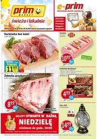 Gazetka promocyjna Prim Market - Świeżo i tanio w Prim Market!