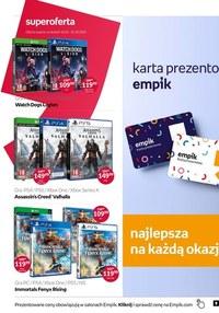 Gazetka promocyjna EMPiK - Zagraj w grę z Empikiem