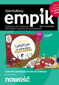 Gazetka promocyjna EMPiK - Szkoła i artykuły papiernicze w Empik
