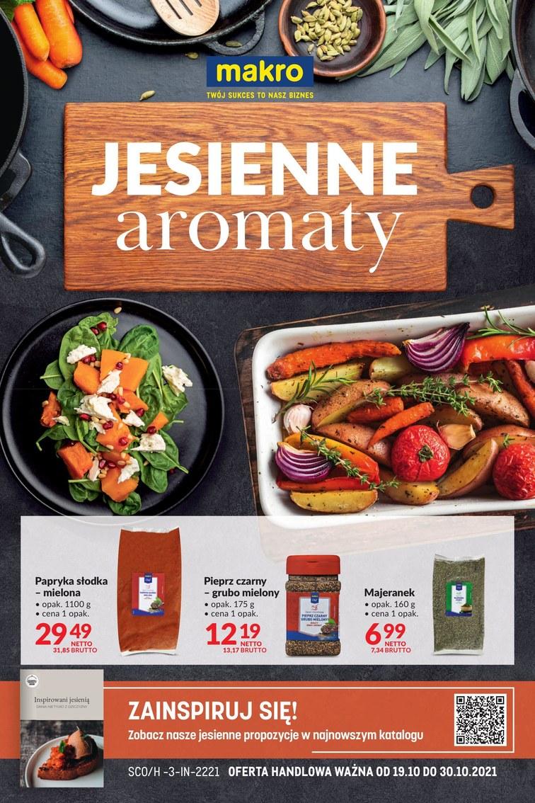 Makro - jesienne aromaty