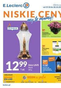 Gazetka promocyjna E.Leclerc - Niskie Ceny - oferta rozszerzona