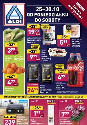 Gazetka promocyjna Aldi - Aldi - tydzień amerykański!