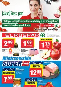 Gazetka promocyjna EuroSPAR - EuroSpar - świeżość i wybór gwarantowane