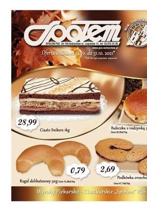 Gazetka promocyjna PSS Andrychów - Super oferta Społem Andrychów