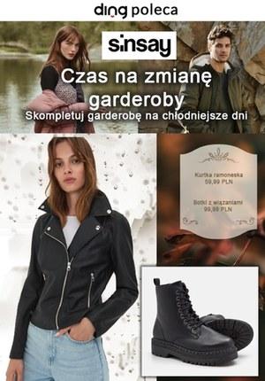Gazetka promocyjna Sinsay - Sinsay - czas na zmianę garderoby