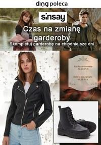 Gazetka promocyjna Sinsay - Sinsay - czas na zmianę garderoby - ważna do 06-11-2021