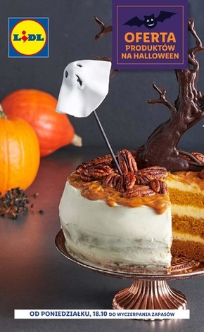 Oferta Halloween w Lidlu