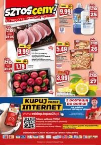 Gazetka promocyjna Topaz - Topaz - znicze w niskiej cenie