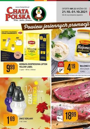 Gazetka promocyjna Chata Polska - Chata Polska - powiew jesiennych promocji