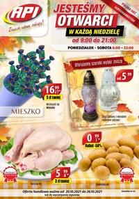 Gazetka promocyjna Api Market - Otwarci zawsze w niedzielę - Api Market!