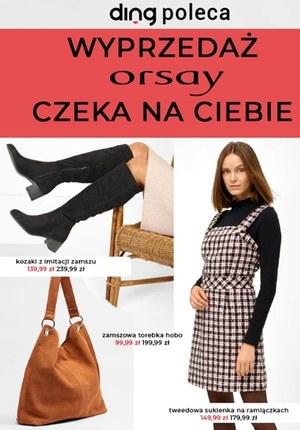 Gazetka promocyjna Orsay - Orsay - wyprzedaż czeka na ciebie!