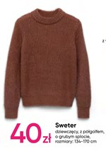 Sweter dziewczęcy Pepco