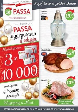 Gazetka promocyjna Passa - Wygrywaj nagrody w sklepach Passa