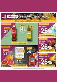 Gazetka promocyjna Frisco - Festiwal makaronu w Frisco!  - ważna do 02-11-2021