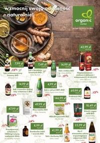 Gazetka promocyjna Organic - Wzmocnij swoją odporność z Organic - ważna do 31-10-2021