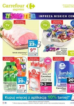 Gazetka promocyjna Carrefour Express - Carrefour Express - gazetka promocyjna