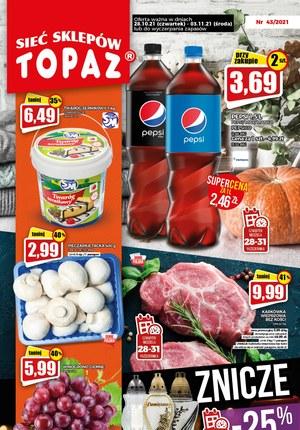 Gazetka promocyjna Topaz - Topaz - znicze -25% taniej!
