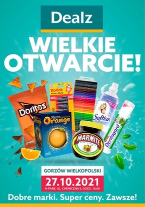 Wielkie otwarcie Dealz Gorzów Wielkopolski
