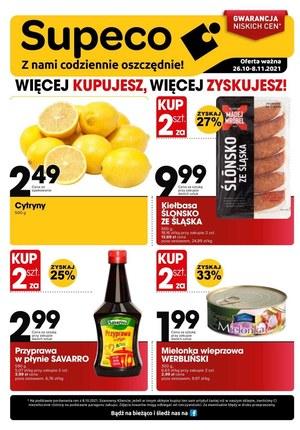 Gazetka promocyjna Supeco - Supeco - więcej kupujesz, więcej zyskujesz!