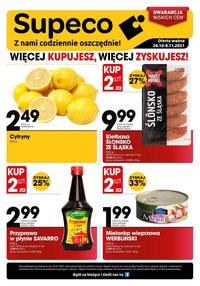 Gazetka promocyjna Supeco - Supeco - więcej kupujesz, więcej zyskujesz! - ważna do 08-11-2021