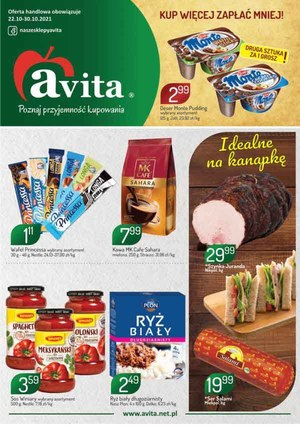 Gazetka promocyjna Avita - Kup więcej, zapłać mniej - Avita