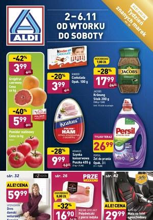 Gazetka promocyjna Aldi - Pełna oferta promocyjna Aldi