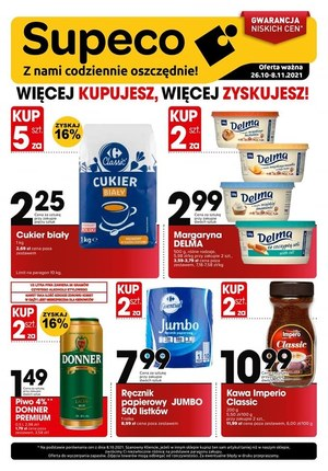 Gazetka promocyjna Supeco - Supeco - nowe promocje!