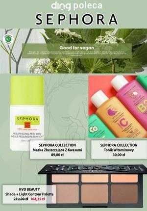 Gazetka promocyjna Sephora - Kosmetyki dla wegan w Sephora