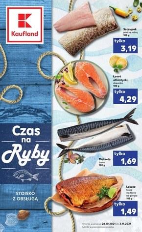 Czas na ryby! Kaufland