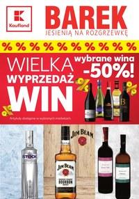 Gazetka promocyjna Kaufland - Wielka wyprzedaż win w Kauflandzie!