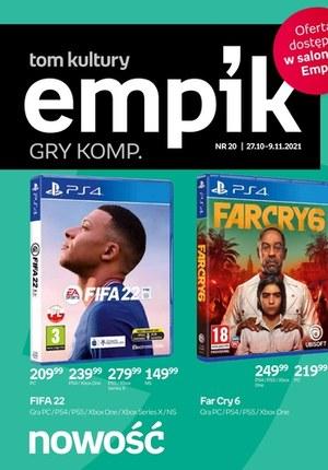 Gazetka promocyjna EMPiK - Gry komputerowe w Empiku