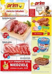 Gazetka promocyjna Prim Market - Prim Market - oferta handlowa
