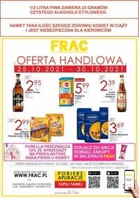 Gazetka promocyjna FRAC - Frac - nowa oferta handlowa! - ważna do 30-10-2021