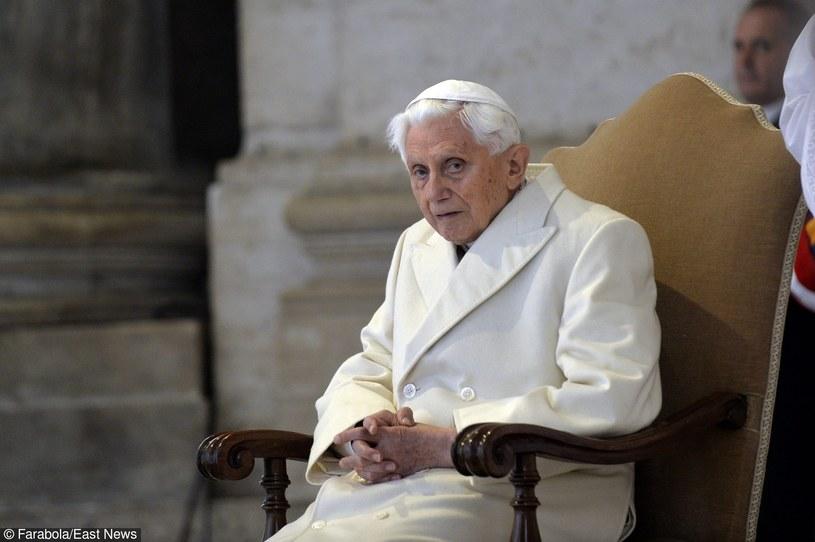 08.12.2015, Wizyta Josepha Ratzingera w Watykanie /Riccardo Musacchio/Vatican Pool /East News