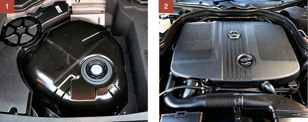 [1] Diesel z katalizatorem selektywnym SCR wymaga uzupełniania płynu AdBlue. [2] Łańcuch rozrządu w dieslu wytrzymuje ok. 200 000 km, wymiana to koszt kilku tys. zł. /Motor
