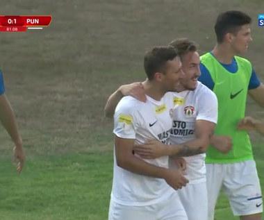 1 liga. GKS Jastrzębie - Puszcza Niepołomice 0-2. Wszystkie bramki (POLSAT SPORT). Wideo