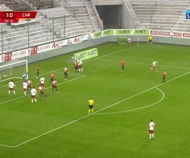 1 Liga. ŁKS Łódź - Chrobry Głogów 4:0. Wszystkie bramki (polsat sport). wideo