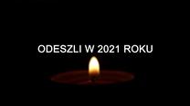 1 listopada: Odeszli w 2021 roku