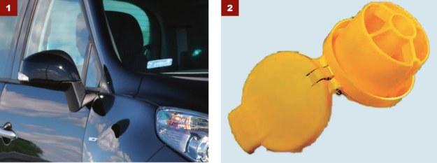 [1] LUSTERKA TRZESZCZĄ PODCZAS SKŁADANIA: Pomaga płukanie pod ciśnieniem i smarowanie. [2] WYPADA KLAPKA OD WLEWU DO SPRYSKIWACZY: To norma. Jest źle zamocowana i łatwo ją zgubić. /Motor