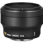 1 Nikkor 32 mm f/1,2 - nowy obiektyw do bezlusterkowców Nikona